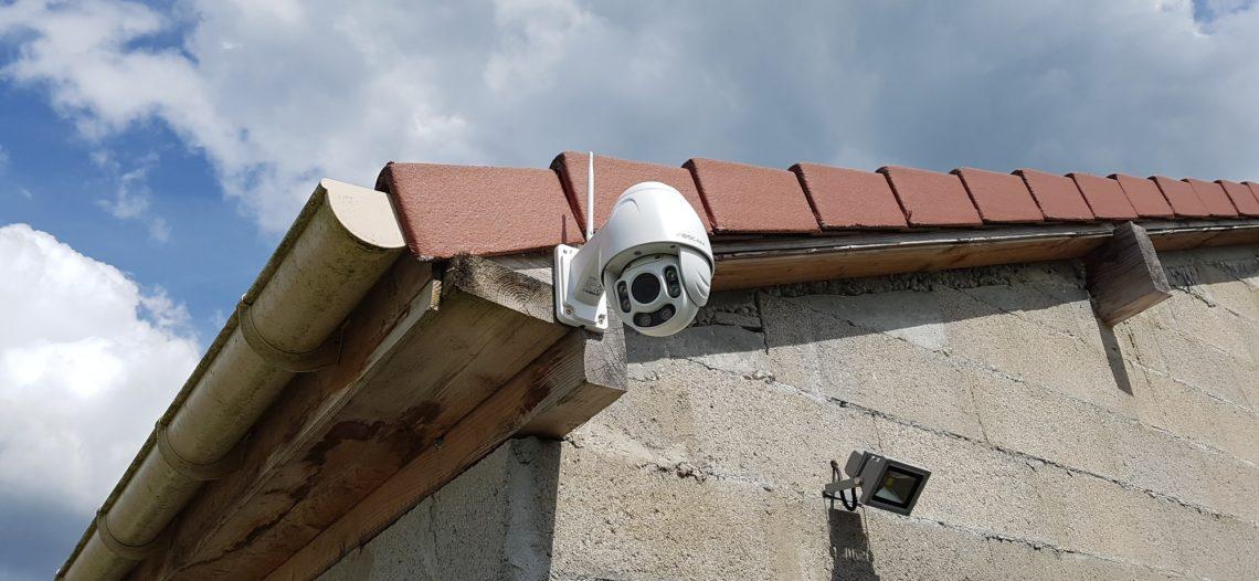 Notre Veille : Test Foscam FI9928P: la caméra motorisée extérieure à zoom optique
