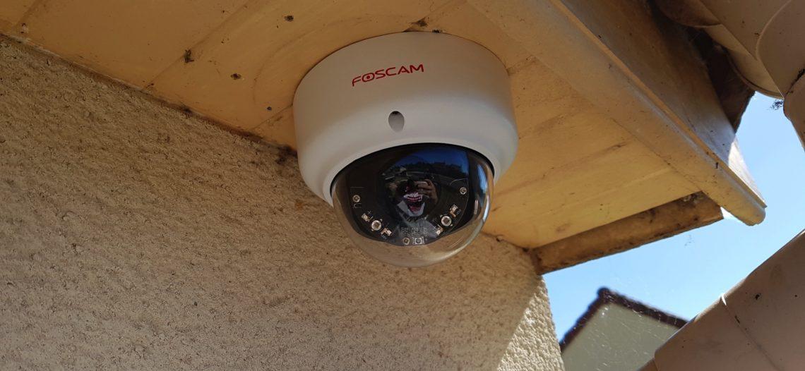 Notre Veille : Foscam FI9961EP: test d'une caméra dôme extérieure POE