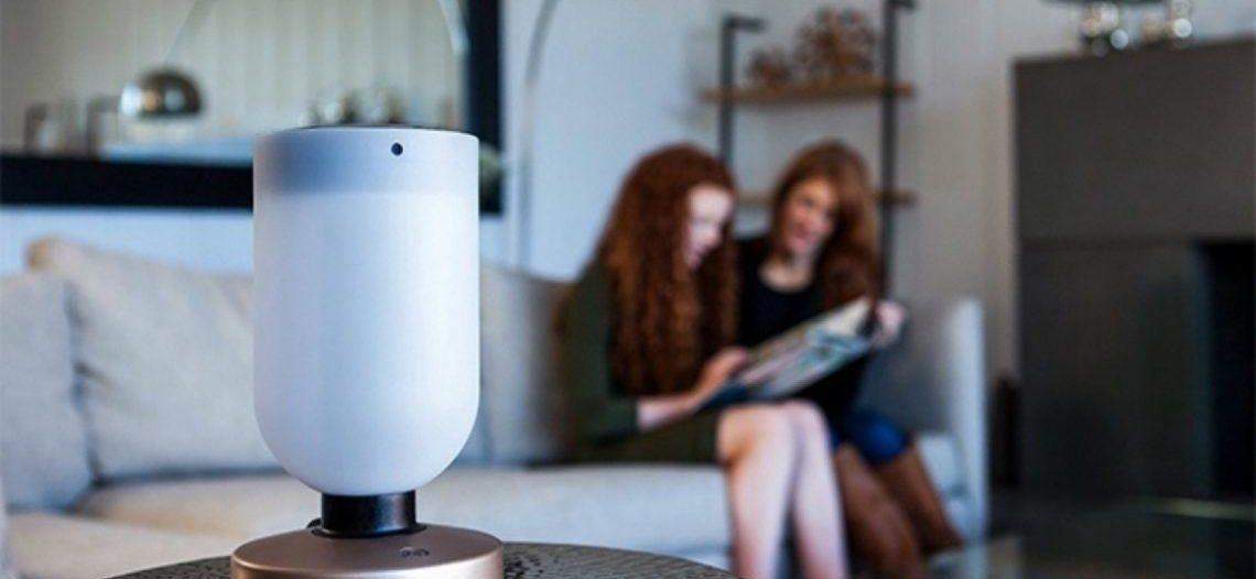 Notre Veille : Momo : la lampe intelligente, assistante à domicile