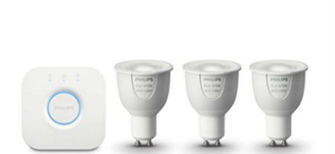 Notre Veille : Philips Hue White and Color ambiance starter kit GU10 : Test complet – Ampoules et luminaires connectés