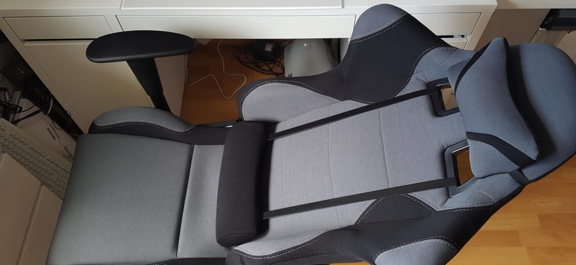 """Notre Veille : Songmics RCG02G: un fauteuil gamer pour bien travailler<span class=""""wtr-time-wrap after-title""""><span class=""""wtr-time-number"""">1</span> min de lecture pour cet article.</span>"""