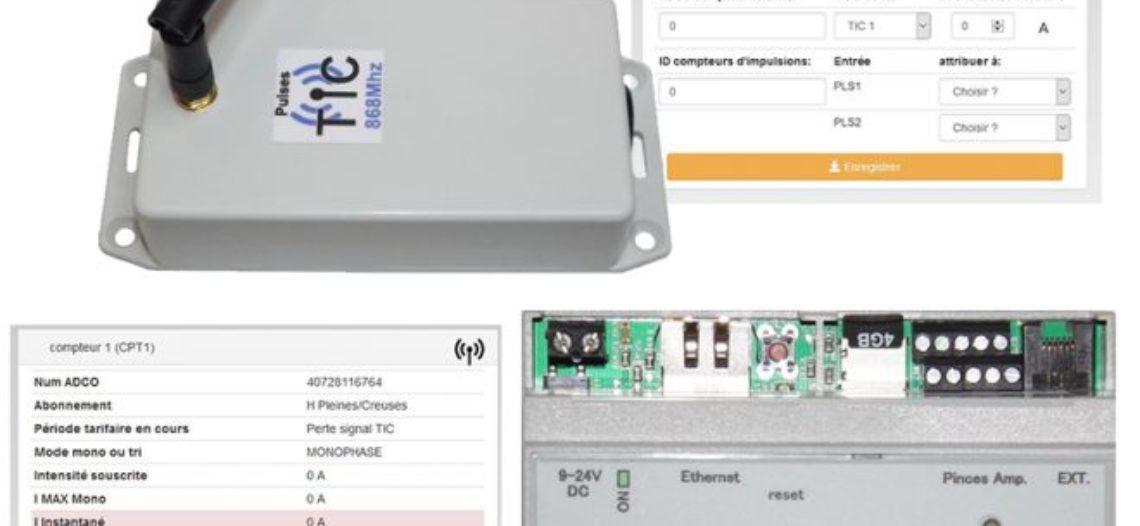 """Notre Veille : Le boitier téléinformation et 2 impulsions 868Mhz sur serveur WES de Cartelectronic<span class=""""wtr-time-wrap after-title""""><span class=""""wtr-time-number"""">1</span> min de lecture pour cet article.</span>"""