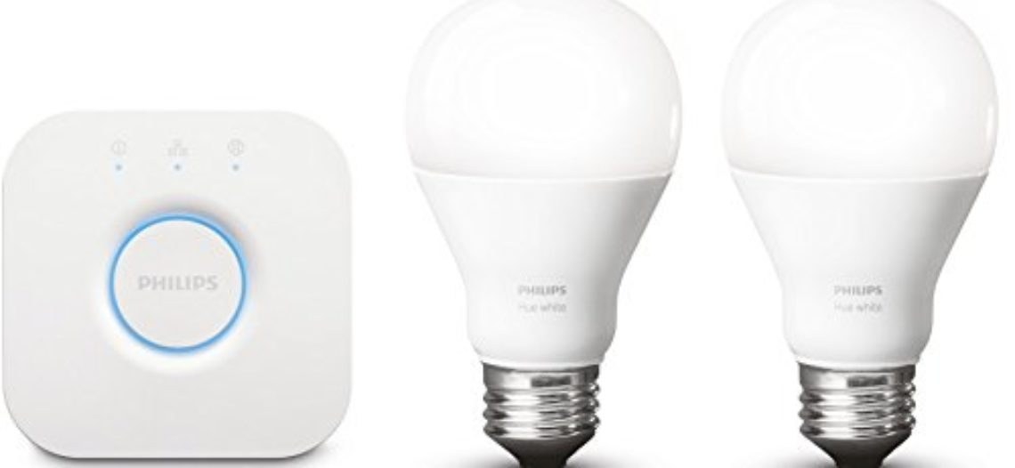 [Bon Plan Amazon] Philips Kit de démarrage 2 ampoules Hue White E27 + pont de connexion Hue