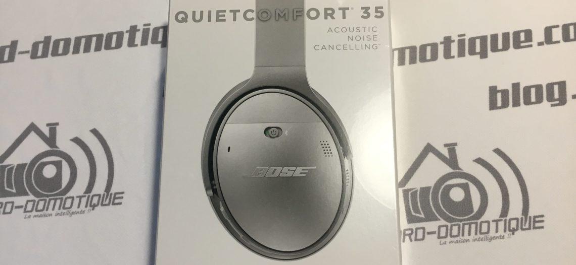 Test du casque Bluetooth Bose QuietConfort 35 (QC35)