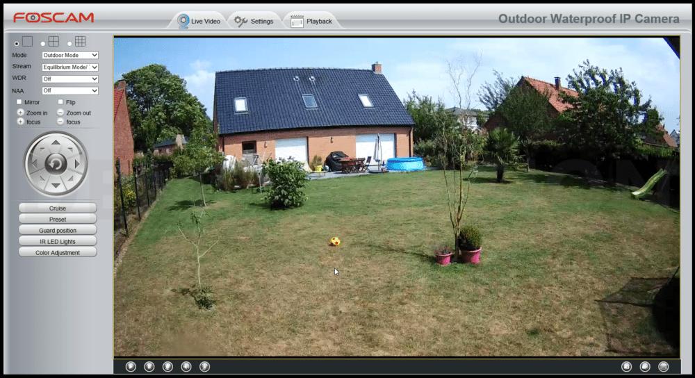 Foscam-FI9928P-Config-Avancee-4 Test de la caméra IP Exterieur Foscam FI9928P partie 2