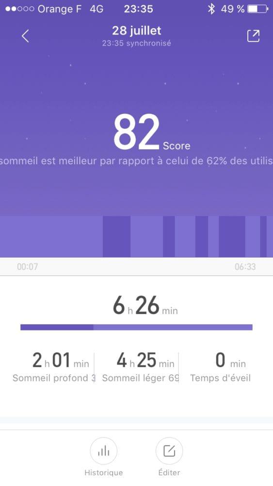 MiBand2-36 Test du bracelet XIAOMI MI BAND 2