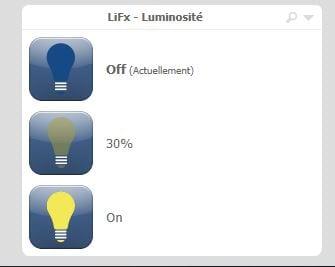 lifx-eedomus4 Présentation et Test du bandeau Led Lifx