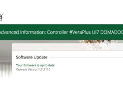 Notre Veille : Mise à jour 7.0.21 pour les contrôleurs domotique Vera
