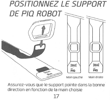 12 Test du PIQ Robot Blue - Boxing Sensor System par PIQ et Everlast