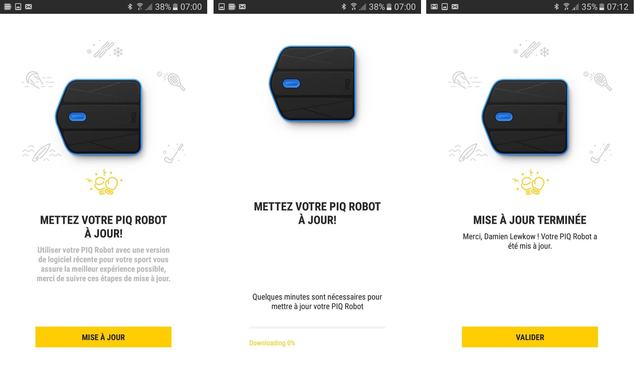 25 Test du PIQ Robot Blue - Boxing Sensor System par PIQ et Everlast