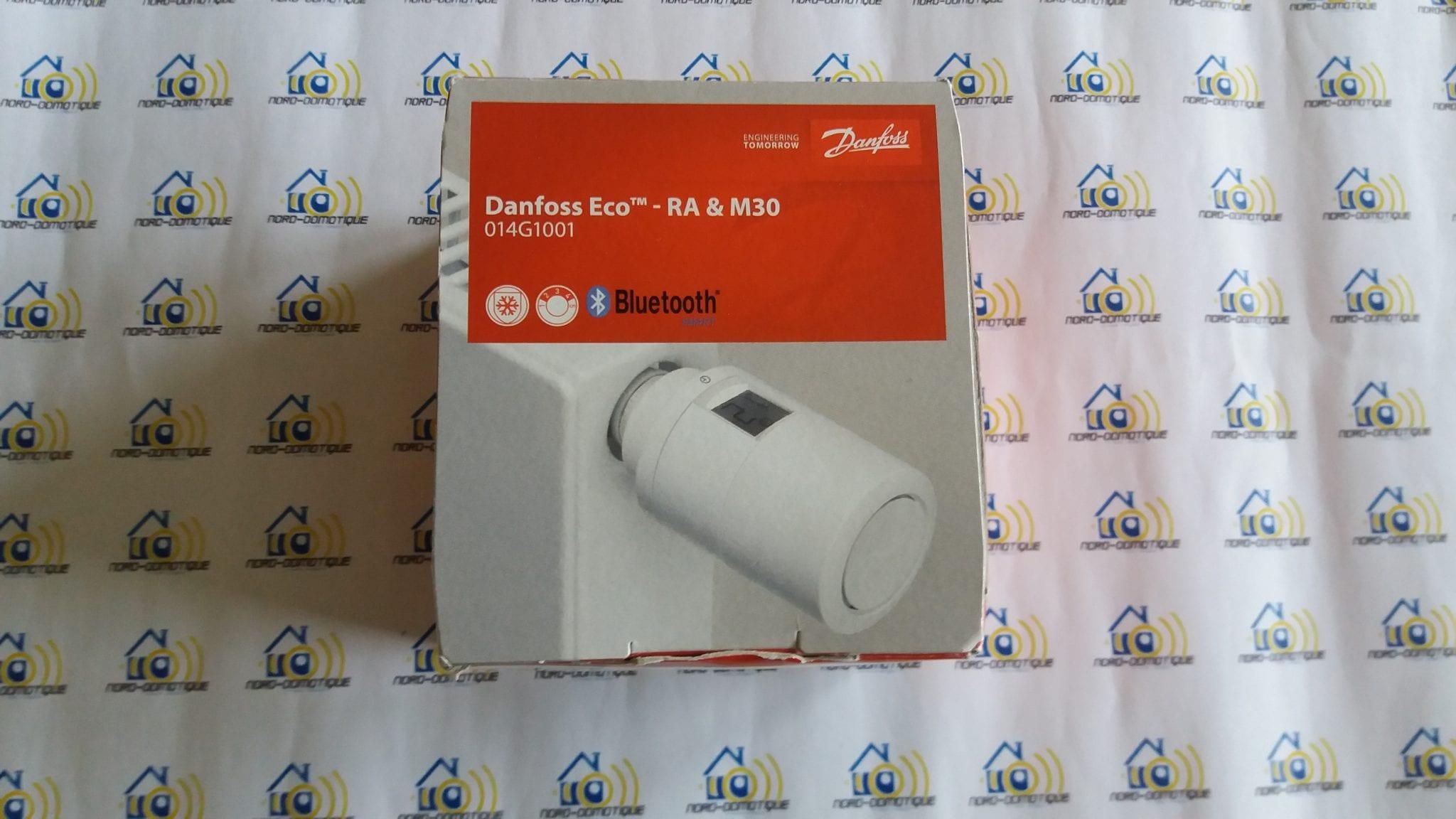 01 Test de la tête thermostatique Danfoss Eco Bluetooth