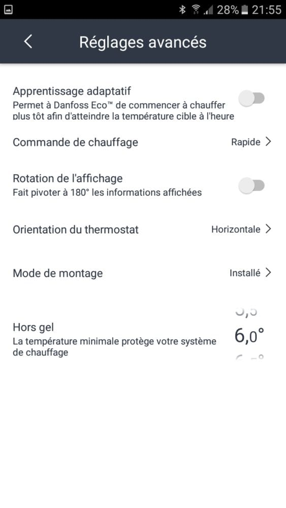 23 Test de la tête thermostatique Danfoss Eco Bluetooth