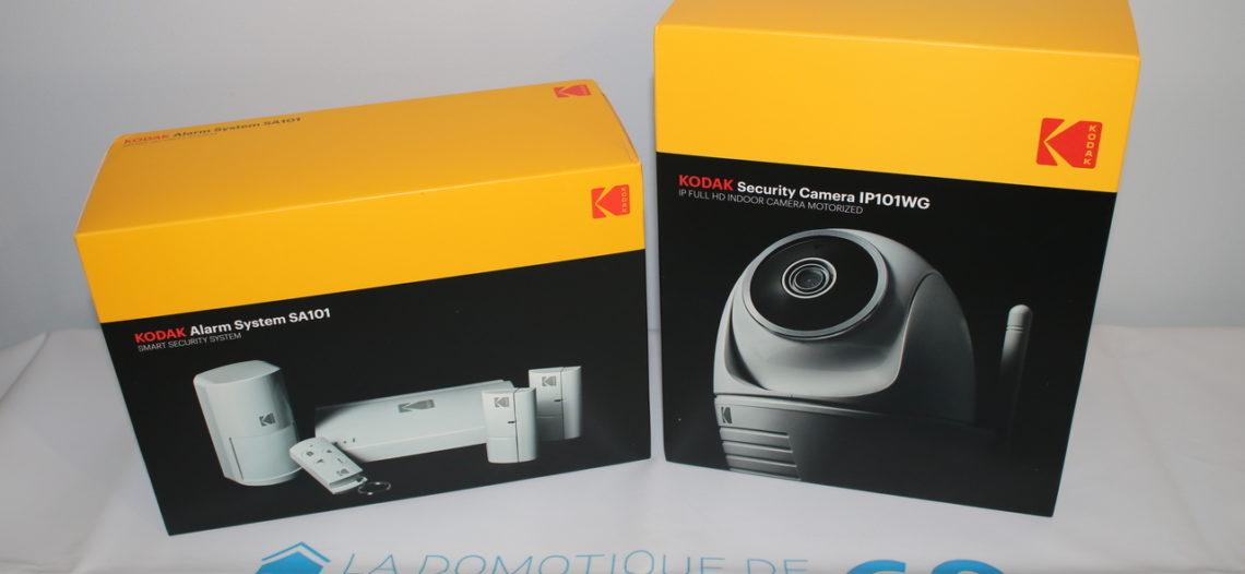 """Notre Veille : Kodak et la sécurité – Test du kit SA101 alarme et de la caméra IP101WG<span class=""""wtr-time-wrap block after-title""""><span class=""""wtr-time-number"""">1</span> min de lecture pour cet article.</span>"""