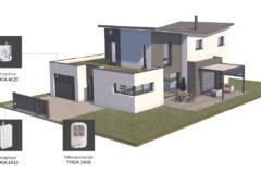 [Delta Dore] – Pilotage de la porte de garage via la box Tydom 1.0 et les modules Tyxia