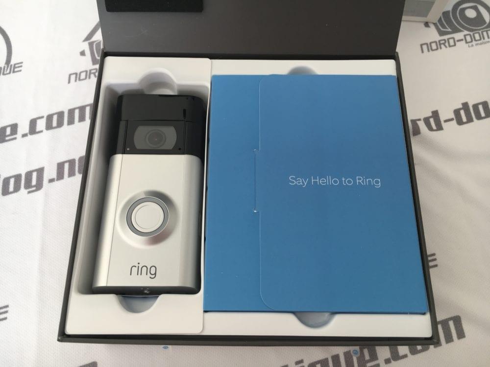 Test du portier vid o wifi ring doorbell 2 - Portier video wifi ...