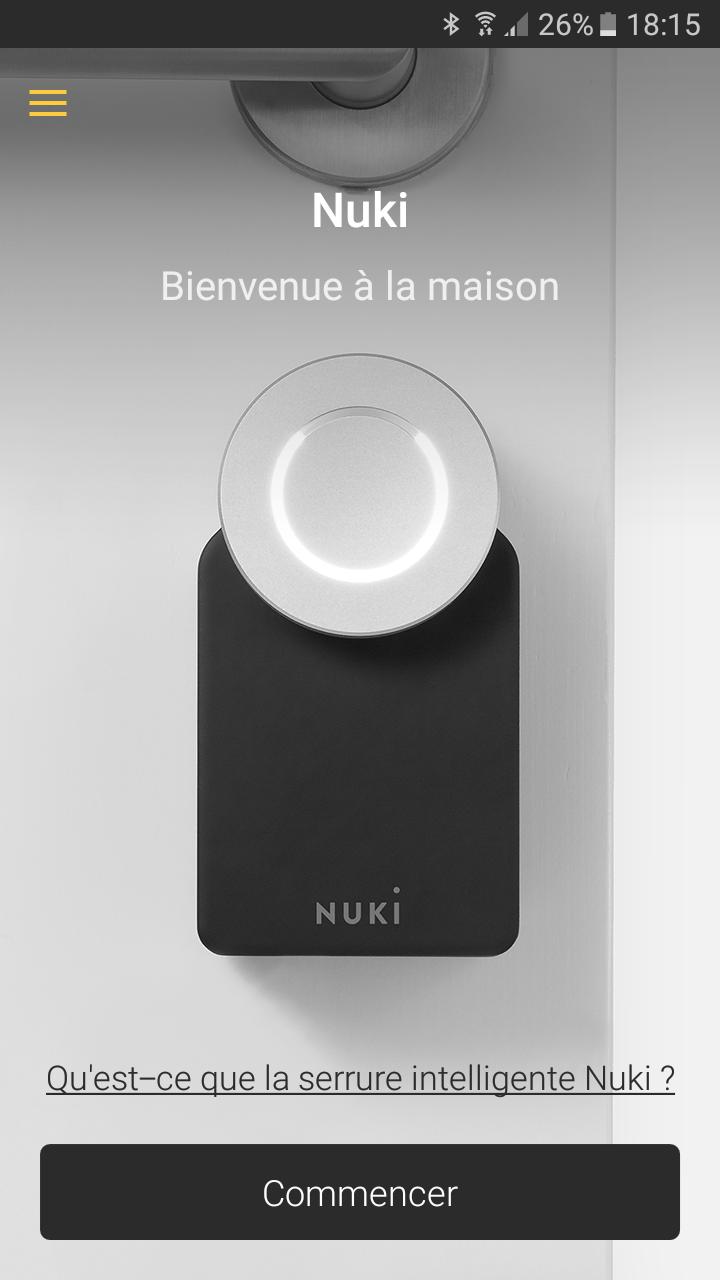 16 Test de la serrure connectée Nuki Smart Lock