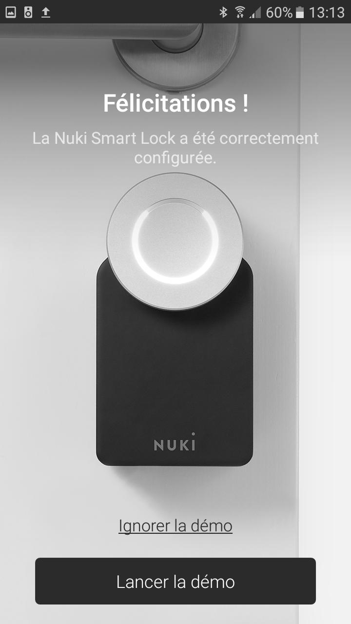22 Test de la serrure connectée Nuki Smart Lock