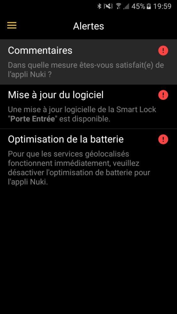 31-1 Test de la serrure connectée Nuki Smart Lock
