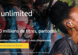 Découvrez Amazon Music Unlimited gratuitement !