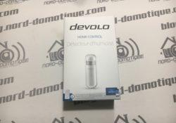 Test du détecteur d'humidité et de température Devolo