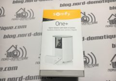 Test de Somfy One+, la solution de sécurité tout-en-un !