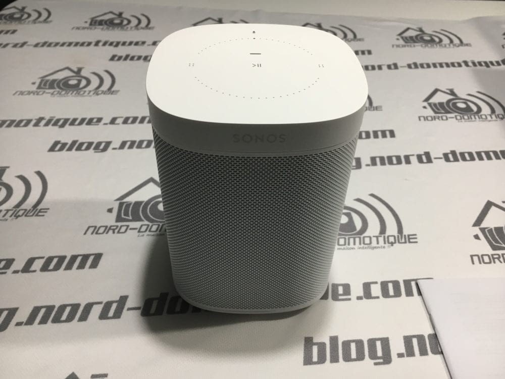 Sonos-One-4996-1000x750 Test du Sonos One et démarrage de l'assistant vocal !