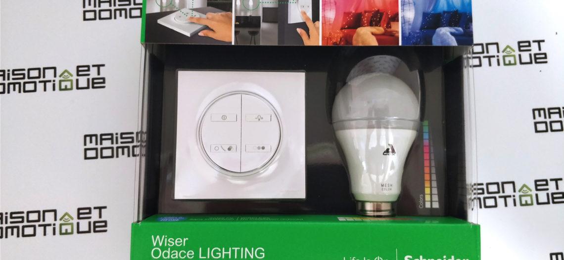 notre veille wiser odace lighting l 39 clairage connect. Black Bedroom Furniture Sets. Home Design Ideas