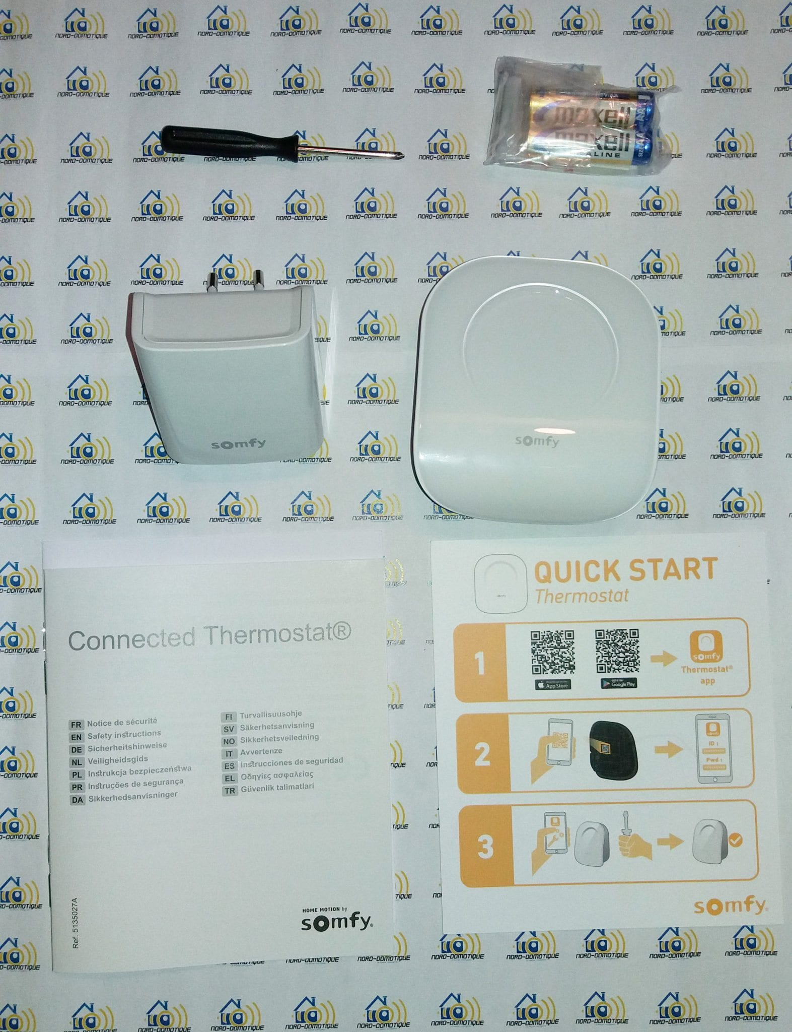 05 Test du thermostat connecté filaire Somfy