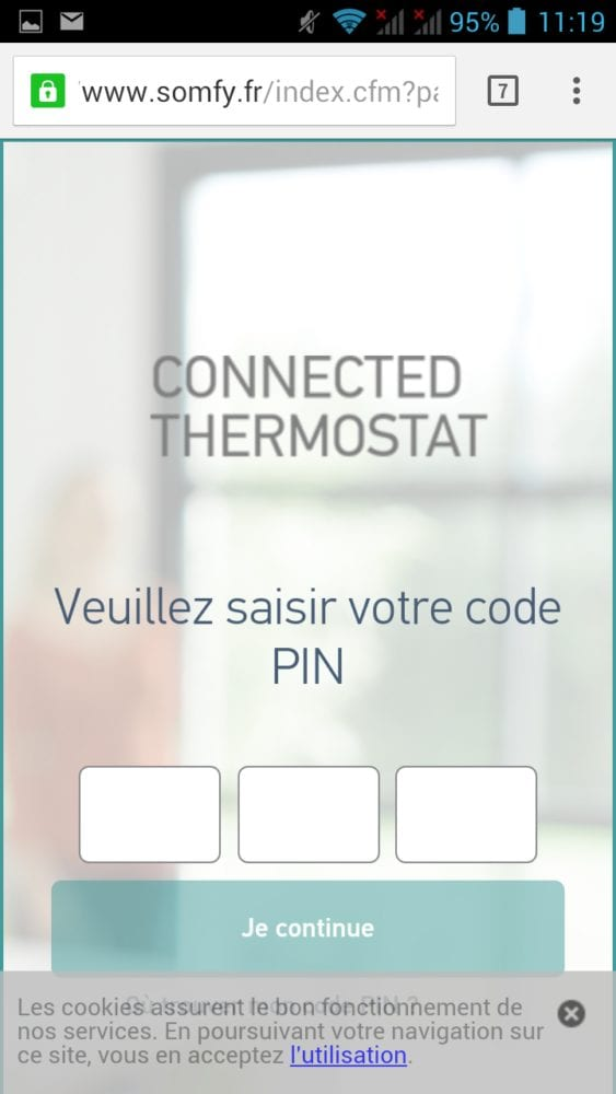 14 Test du thermostat connecté filaire Somfy