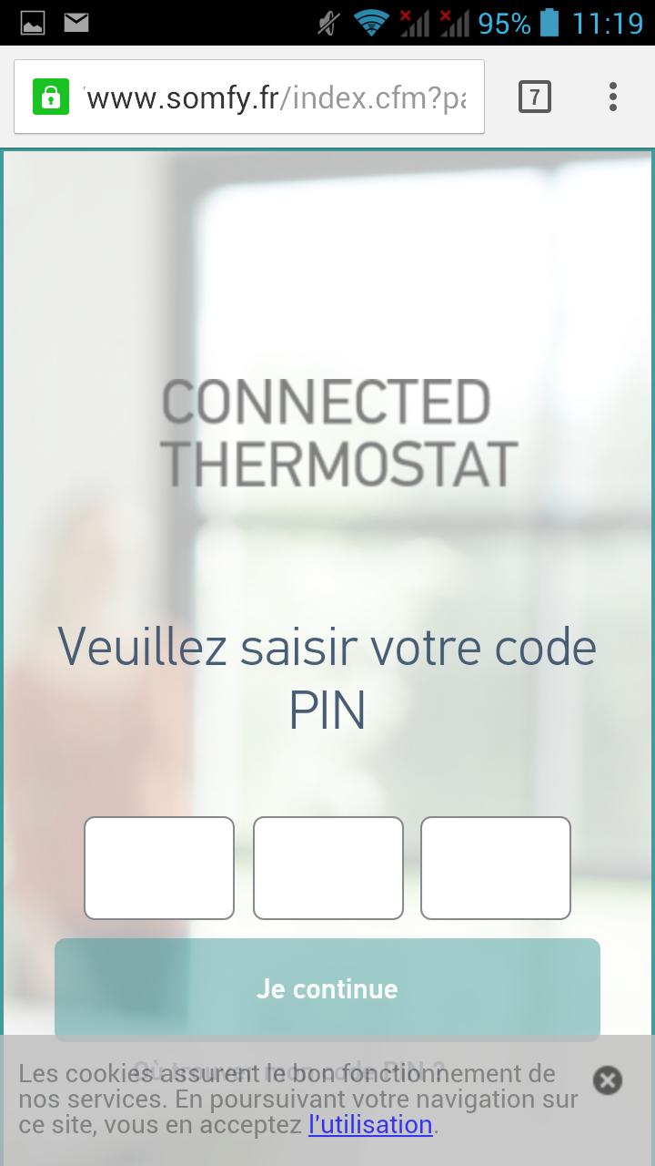 14 Test du thermostat connecté filaire Somfy