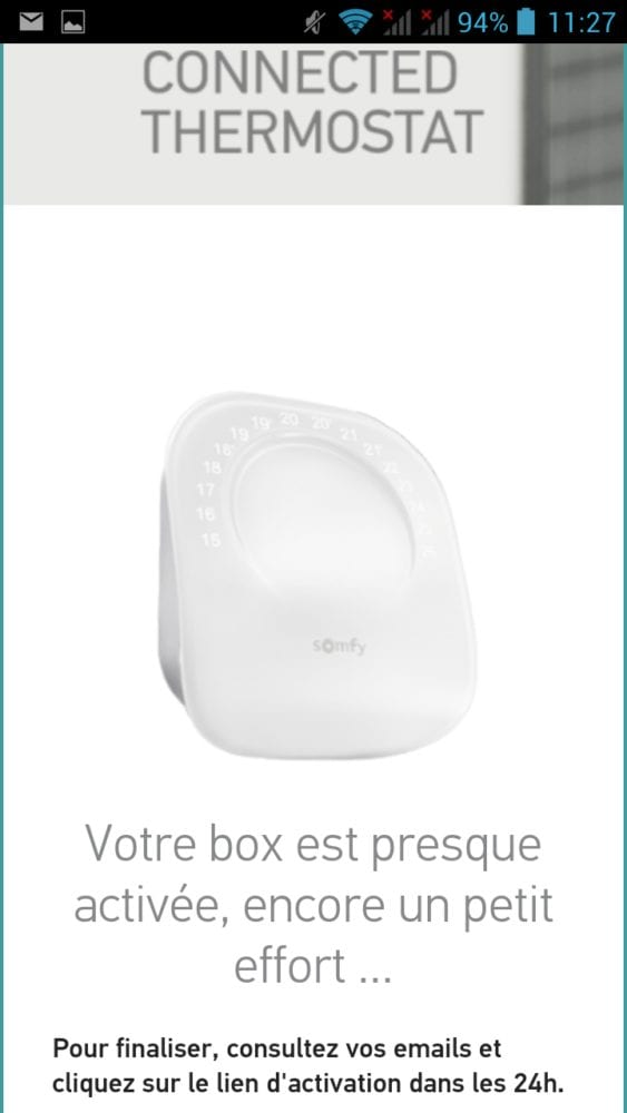 16 Test du thermostat connecté filaire Somfy