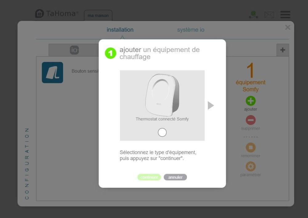 26 Test du thermostat connecté filaire Somfy