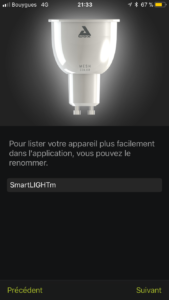 Awox-SmartLight-Mesh_7375-169x300 Test des ampoules Led basse consommation Smartlight Mesh GU10
