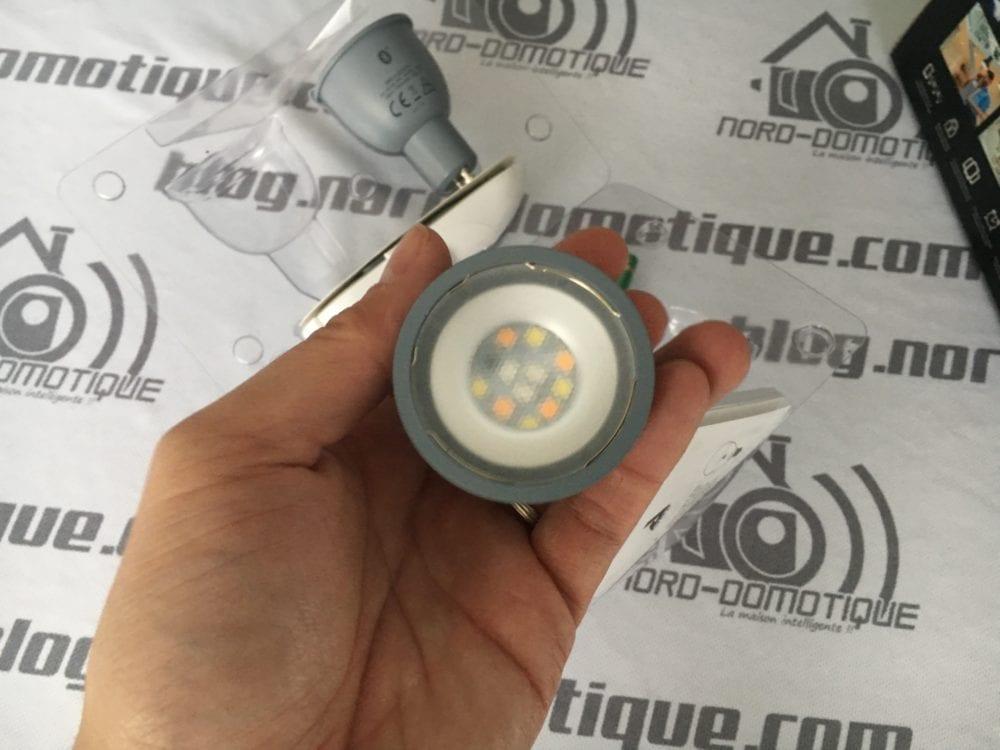 Awox-SmartLight-Mesh_8633-1000x750 Test des ampoules Led basse consommation Smartlight Mesh GU10