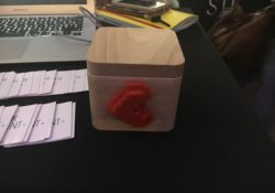 LOVEBOX, la boite à amour connectée ! idéal pour la Saint-Valentin.