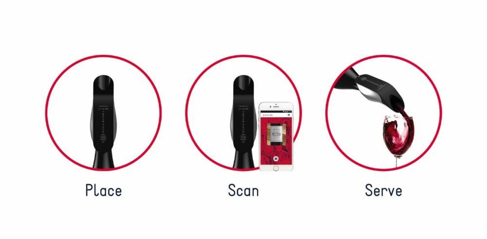 Place-Scan-Serve-copy-1000x492 Aveine va bientôt lancer sa campagne de financement sur Indiegogo