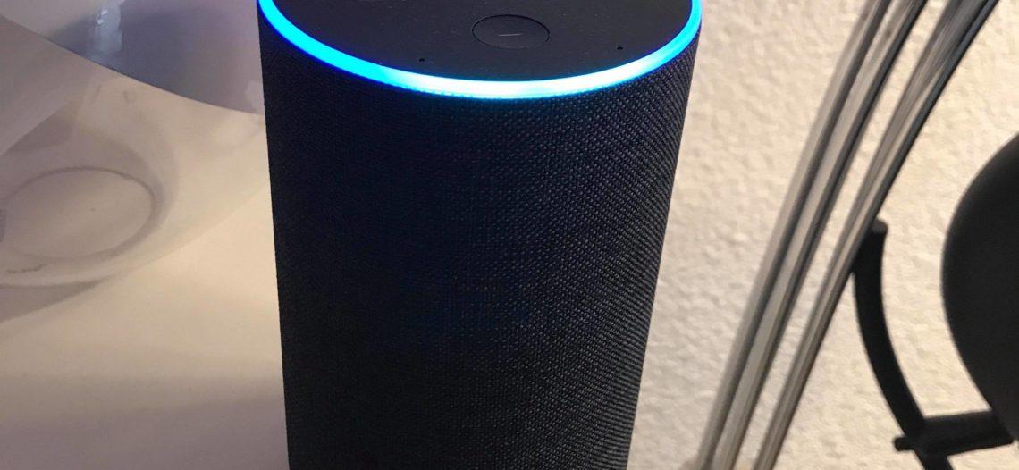 """Notre Veille : Amazon Echo: premières impression d'un beta testeur français<span class=""""wtr-time-wrap block after-title""""><span class=""""wtr-time-number"""">1</span> min de lecture pour cet article.</span>"""