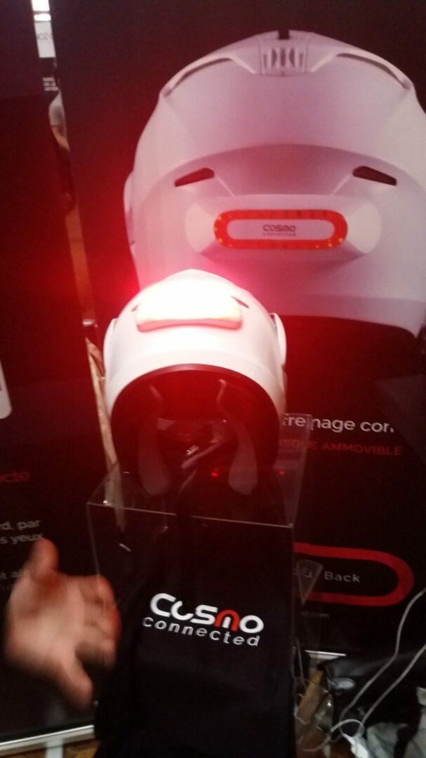 01 Test du feu de freinage Moto connecté Cosmo