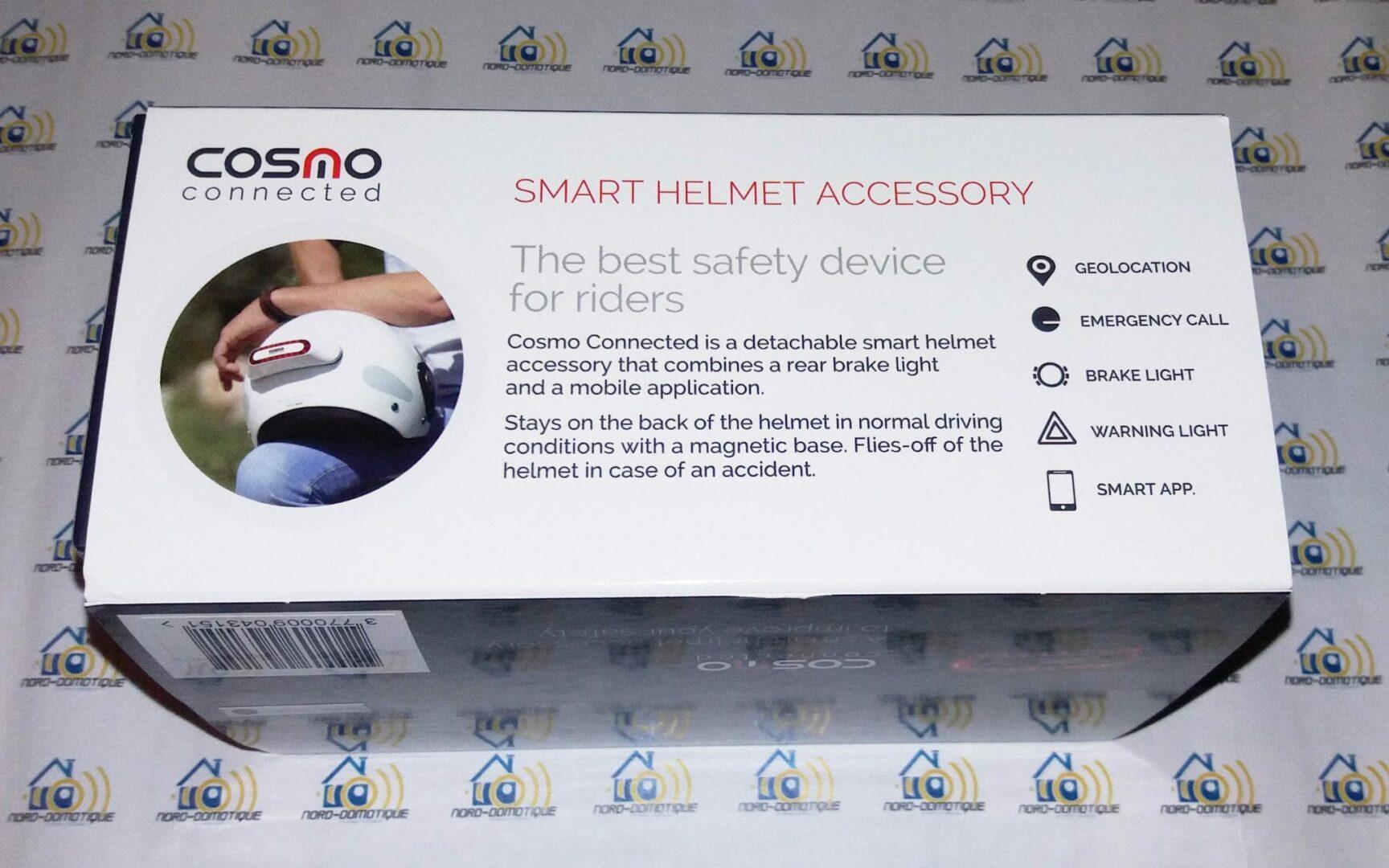 07 Test du feu de freinage Moto connecté Cosmo