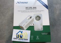 Jeu concours : Gagner un kit CPL 500 de chez Strong