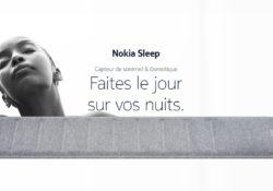 Notre Veille : Nokia Sleep, le tracker de sommeil qui souhaite améliorer vos nuits