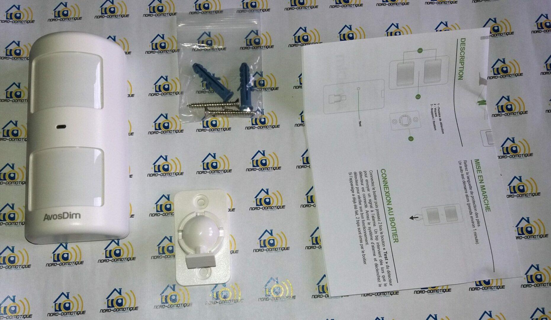 04-1 Découverte des différents détecteurs pour l'alarme Avosdim Serenity