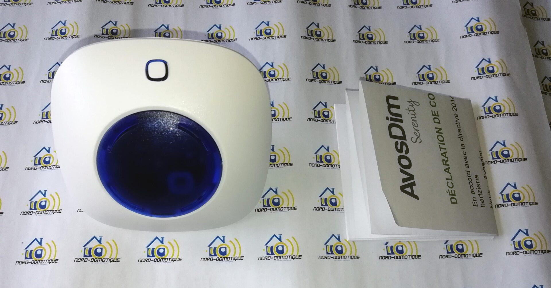 04-2 Test des sirènes intérieure et extérieure pour l'alarme Avosdim