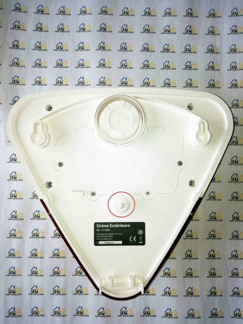 07-2 Test des sirènes intérieure et extérieure pour l'alarme Avosdim