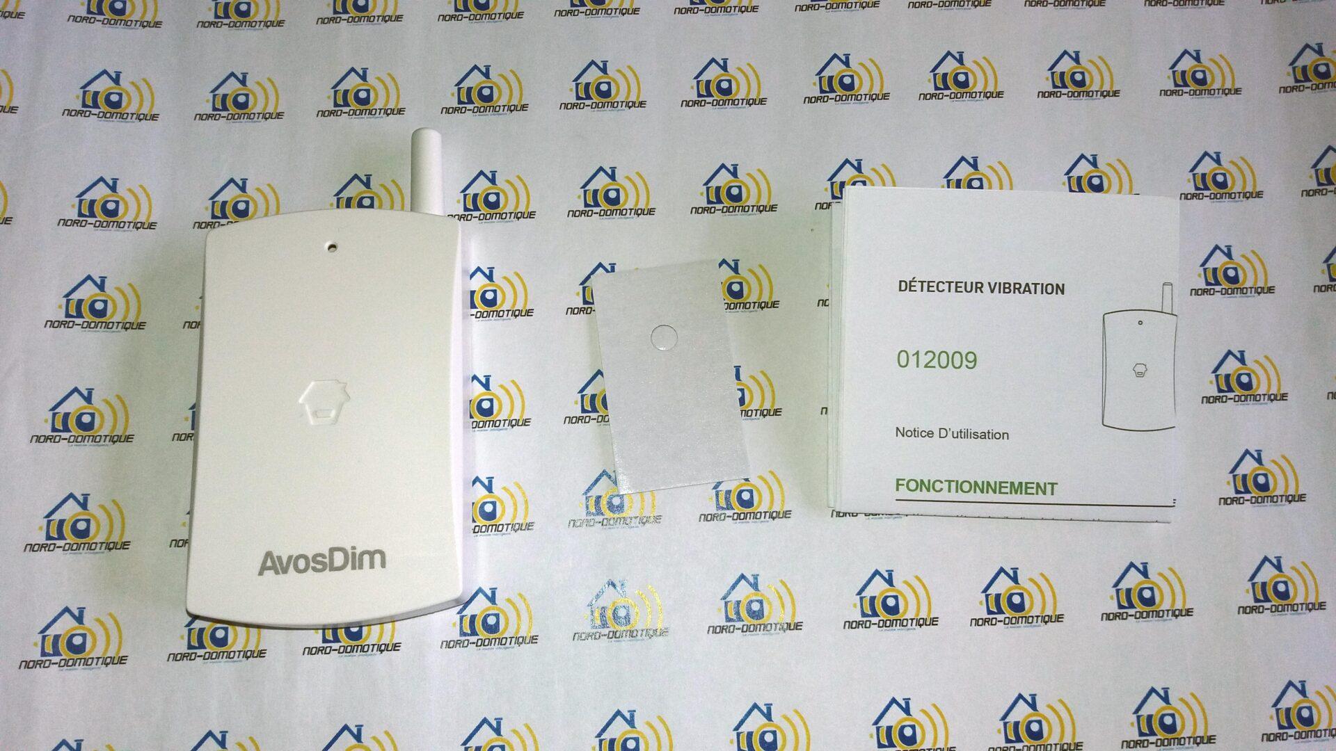 08-1 Découverte des différents détecteurs pour l'alarme Avosdim Serenity