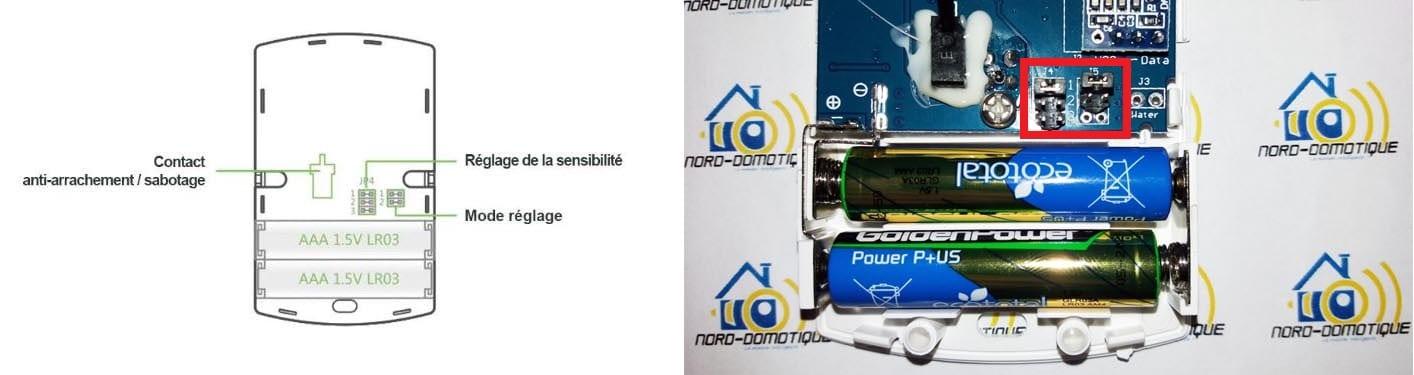 11-1 Découverte des différents détecteurs pour l'alarme Avosdim Serenity