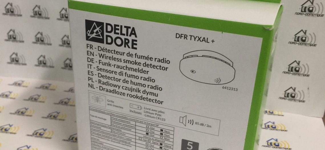 """Delta Dore – Détecteur de fumée DFR Tyxal+<span class=""""wtr-time-wrap block after-title""""><span class=""""wtr-time-number"""">4</span> min de lecture pour cet article.</span>"""