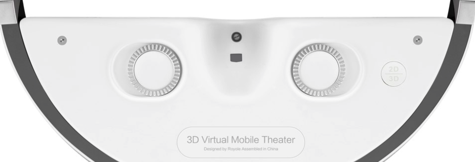 Royole-4 Royole Moon test du casque de réalité virtuelle haut de gamme