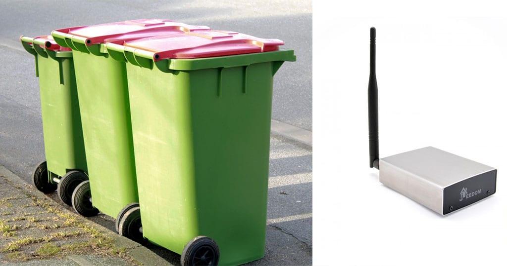 gamme exceptionnelle de styles et de couleurs à vendre nouveau style de vie N'oubliez plus de sortir vos poubelles grâce à Jeedom - Blog ...