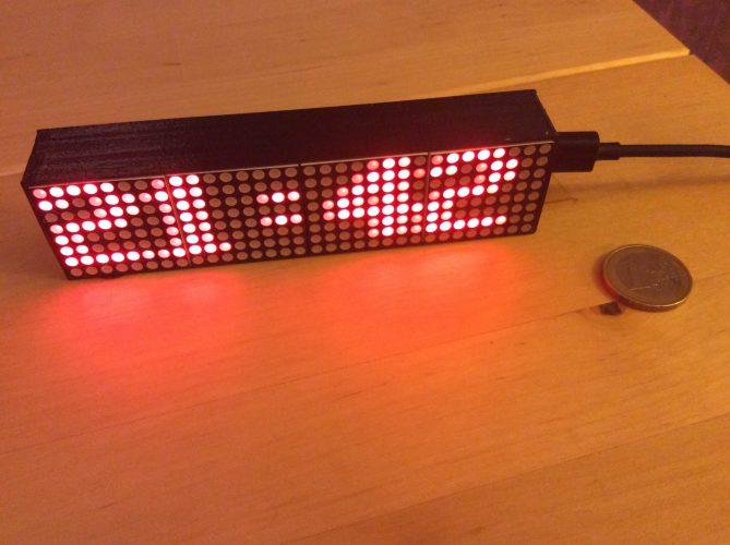 Notre-Veille-Smart-Led-Messenger-lafficheur-connecté-très-abordable-compatible-avec-les-systèmes-domotiques Notre Veille : Smart Led Messenger: l'afficheur connecté très abordable, compatible avec les systèmes domotiques